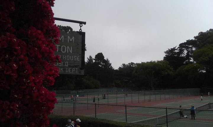 Golden Gate Park tennis, SF CA