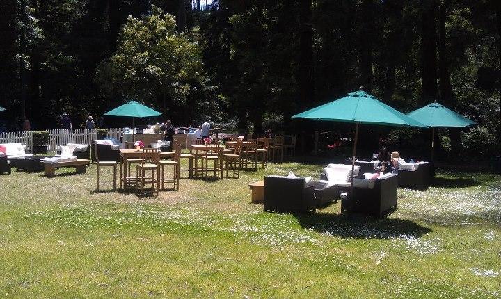 Stern Grove VIP lounge